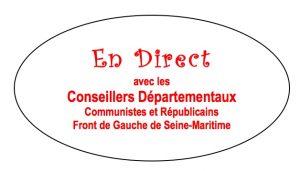 Conseil départemental du 28 mars : les élus communistes du Front de Gauche pour tracer un cap radicalement différent !