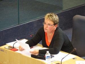 Bilan des conseillers emploi du Département : Sophie Hervé met les choses au point et le Vice-Président se prend les pieds dans le tapis