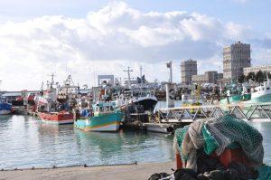 Le port de pêche du Havre bientôt de compétence départementale ? Sophie Hervé et Alban Bruneau s'en réjouissent