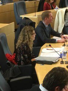 La politique enfance-jeunesse du département en débat, Séverine Botte monte au front