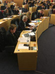 Le groupe fait échouer le projet de réduction du nombre de débats en Conseil départemental